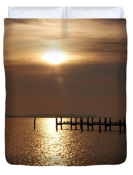 Chesapeake Morning Duvet Cover by Bill Cannon