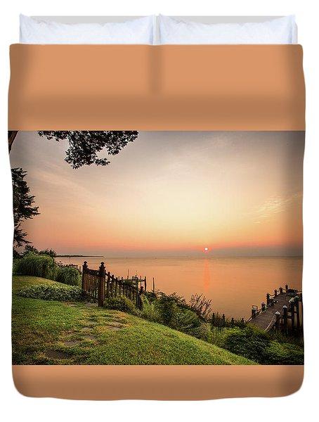 Chesapeake Morning Duvet Cover