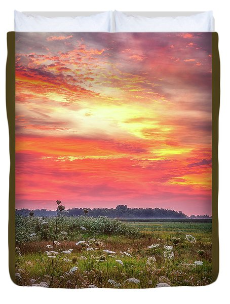 Chesapeake Sunrise I Duvet Cover