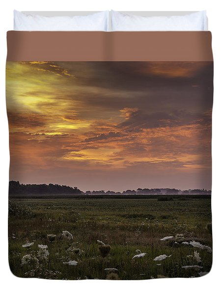 Chesapeake Sunrise II Duvet Cover by David Cote