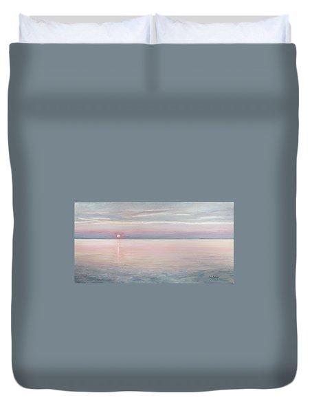 Chesapeake Sunset Duvet Cover