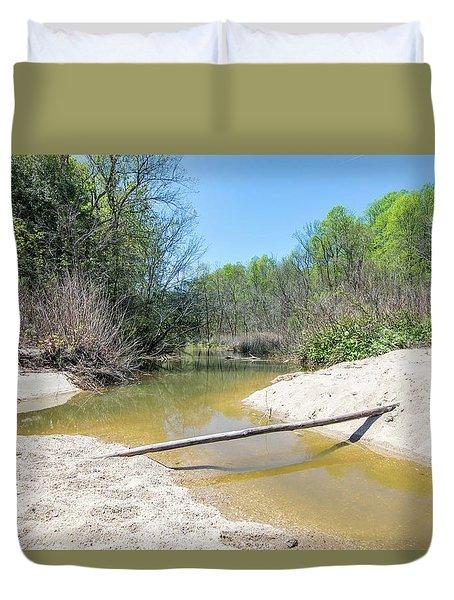 Chesapeake Tributary Duvet Cover
