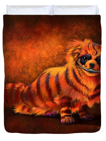 Cheshire Canine Duvet Cover