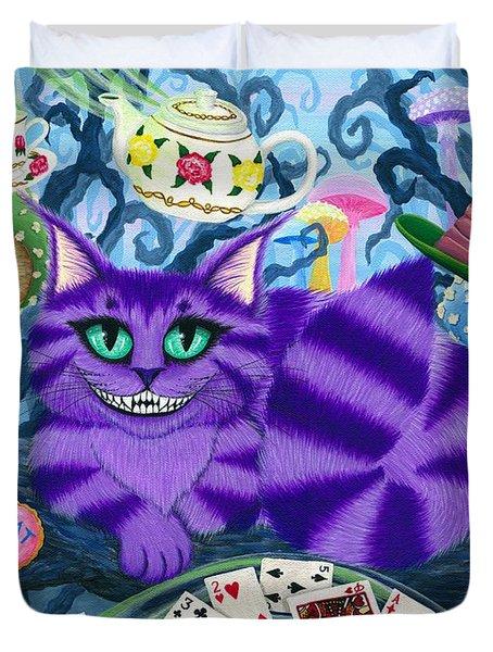 Cheshire Cat - Alice In Wonderland Duvet Cover