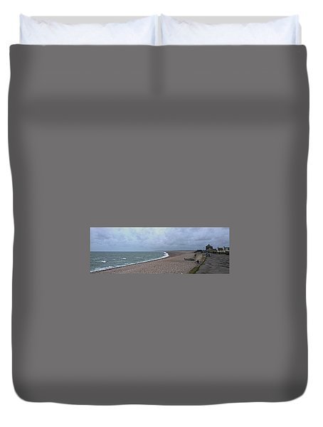Chesil Beach November 2013 Duvet Cover