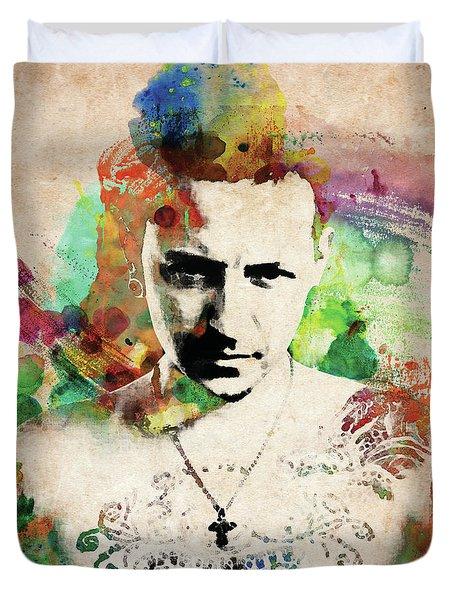 Chester Bennington Duvet Cover