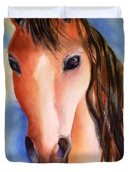 Chestnut Horse Duvet Cover