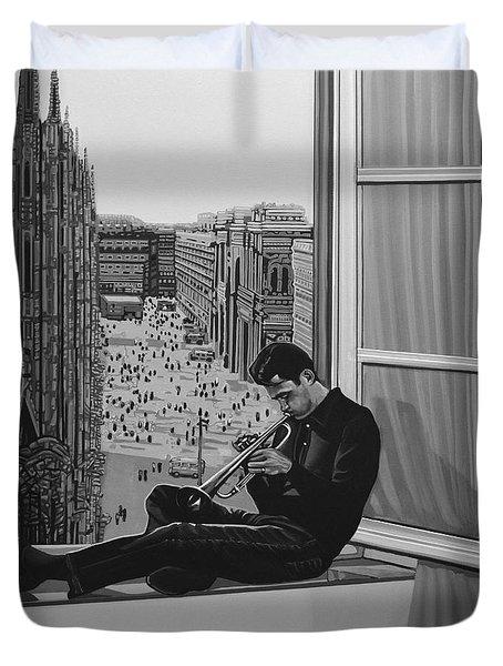 Chet Baker Duvet Cover