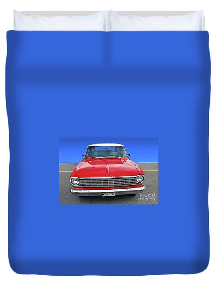 Chev Wagon Duvet Cover
