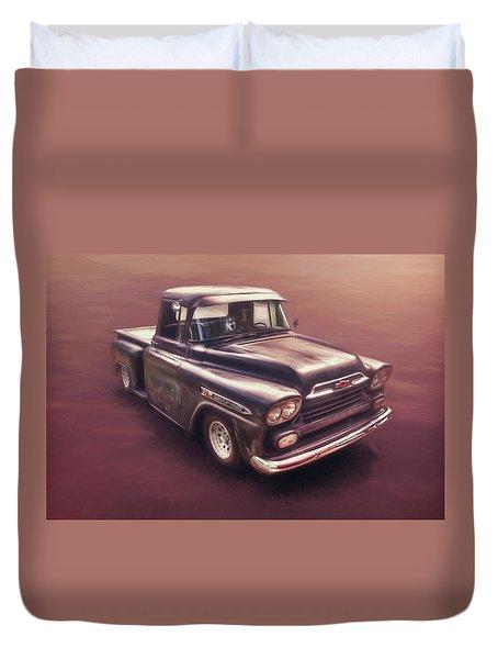 Chevrolet Apache Pickup Duvet Cover