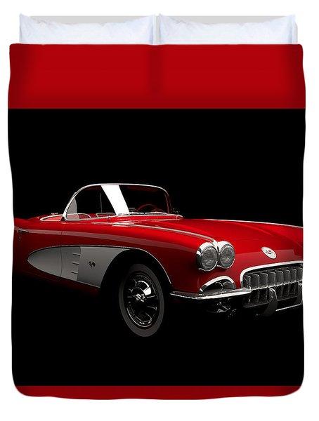 Chevrolet Corvette C1 Duvet Cover