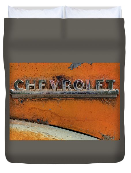Chevrolet Emblem Duvet Cover