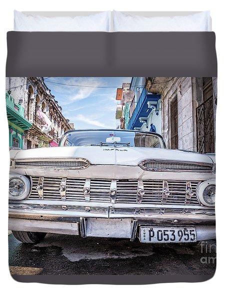 Chevrolet Impala In Havana Duvet Cover