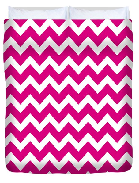 Chevron Pattern - Pick Your Color Duvet Cover