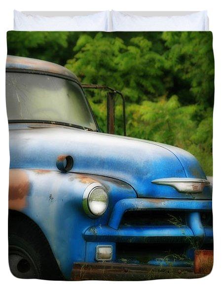 Chevy 6500 Farm Truck Duvet Cover