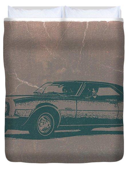 Chevy Camaro Duvet Cover by Naxart Studio