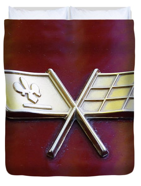 Chevy Corvette Duvet Cover