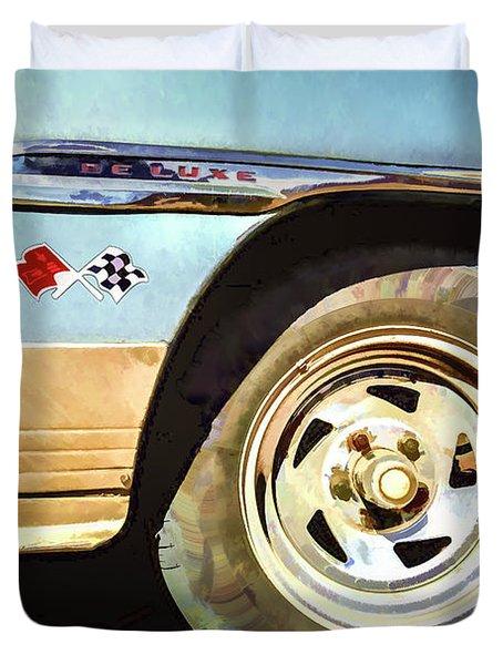 Chevy Deluxe Duvet Cover
