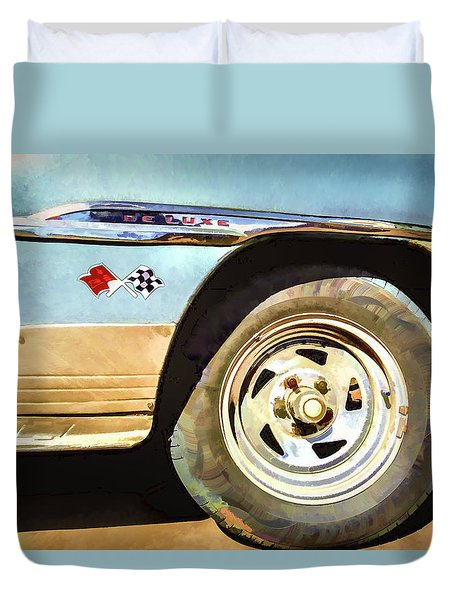 Chevy Deluxe Duvet Cover