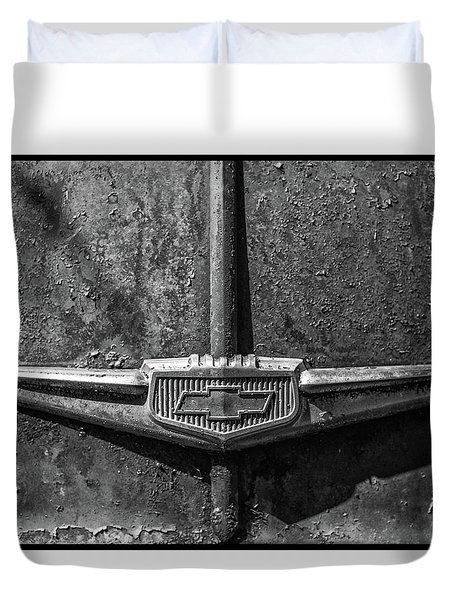 Chevy Emblem-4240 Duvet Cover