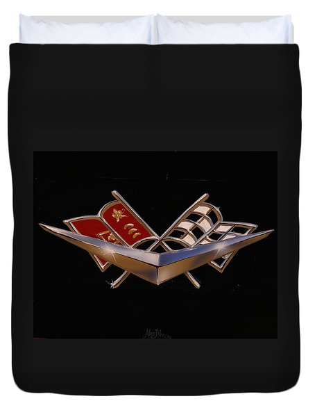 Chevy Flags  Duvet Cover
