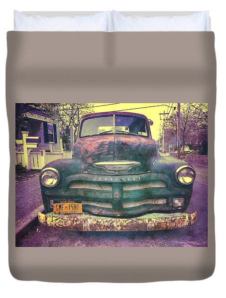 Chevy Duvet Cover