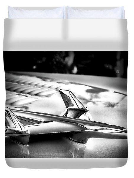 Chevy Noir Duvet Cover