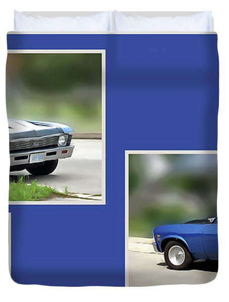 Chevy Nova Horizontal Duvet Cover