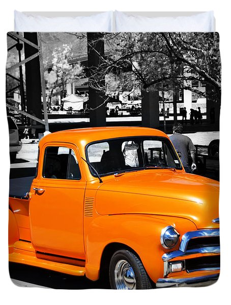 Chevy Pick Up  Duvet Cover