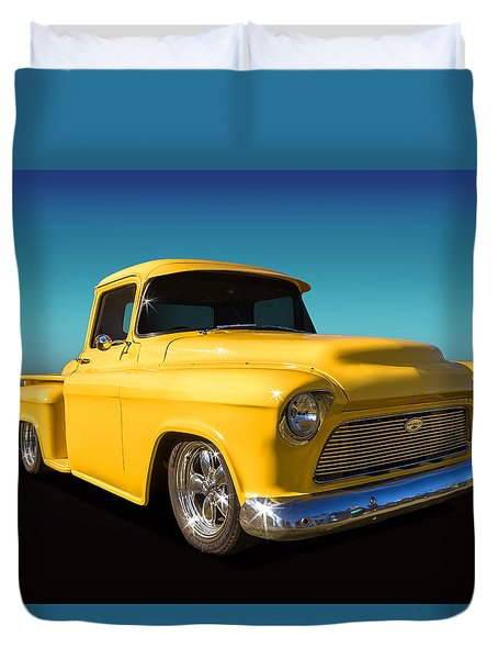 Chevy Stepside Duvet Cover
