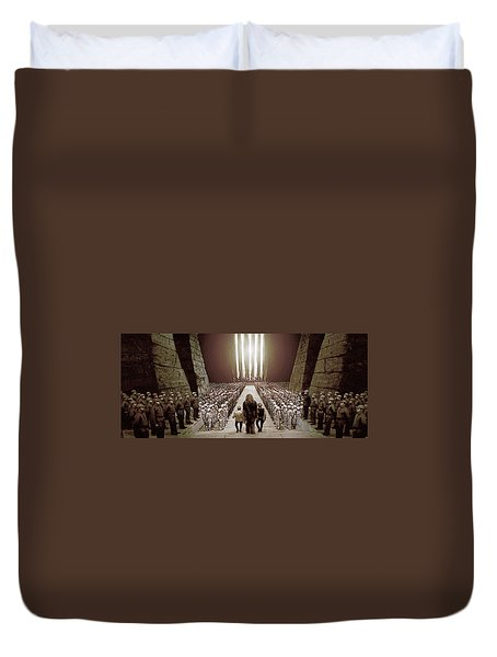 Chewbacca's March To Disappointment Duvet Cover