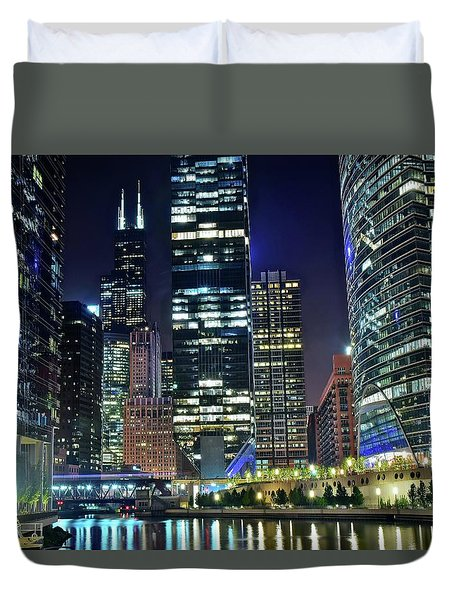 Chicago Towers 2017  Duvet Cover