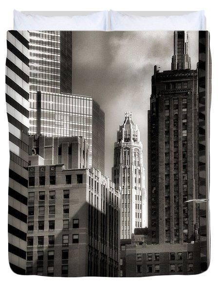 Chicago Architecture - 13 Duvet Cover