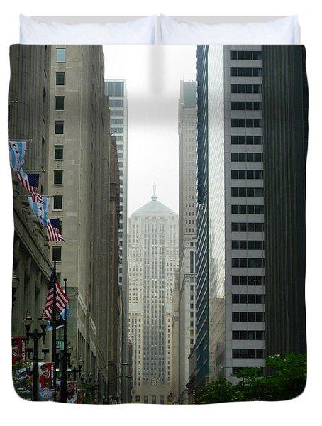 Chicago Architecture - 17 Duvet Cover
