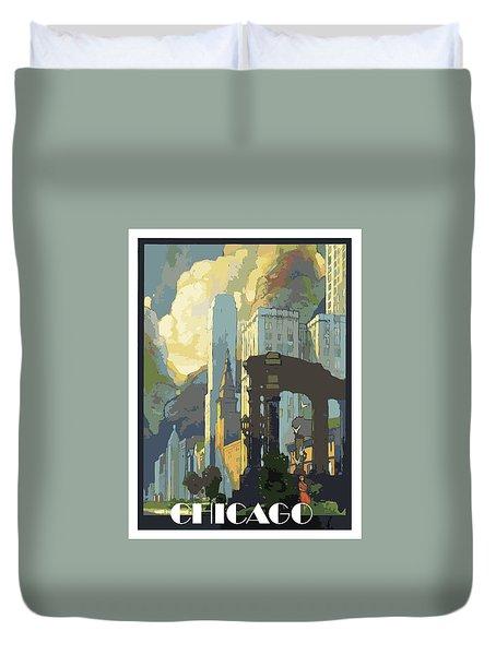 Chicago, Big City Duvet Cover