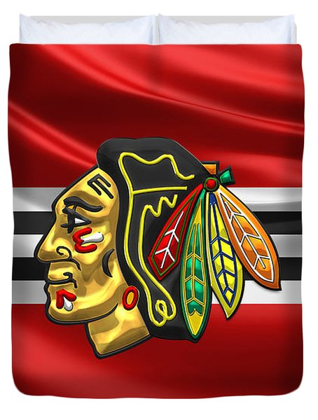 Chicago Blackhawks Duvet Cover