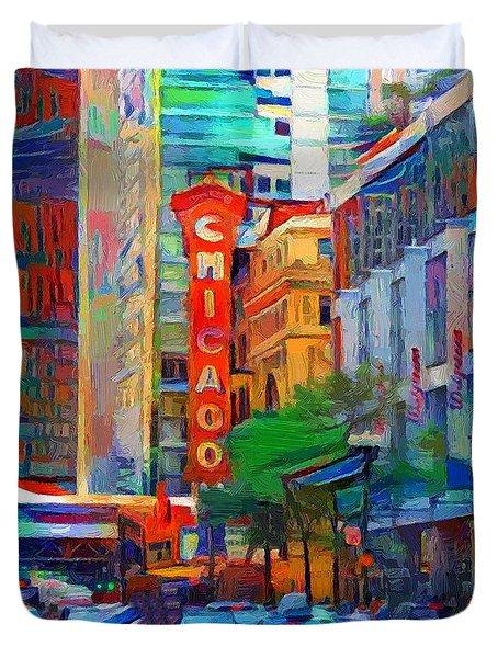 Chicago Colors 3 Duvet Cover