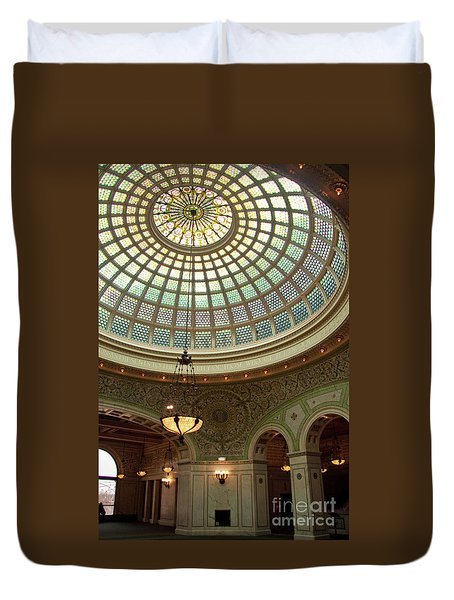 Chicago Cultural Center Dome Duvet Cover