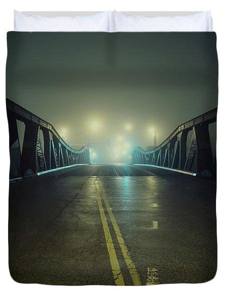 Chicago Fog Duvet Cover
