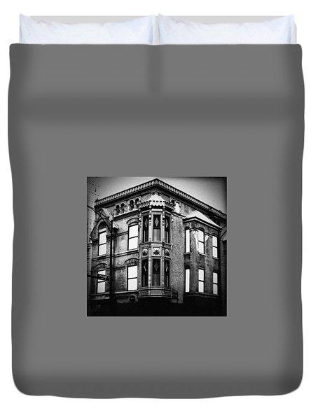 Chicago Historic Corner Duvet Cover