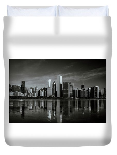 Chicago Lake Front Duvet Cover