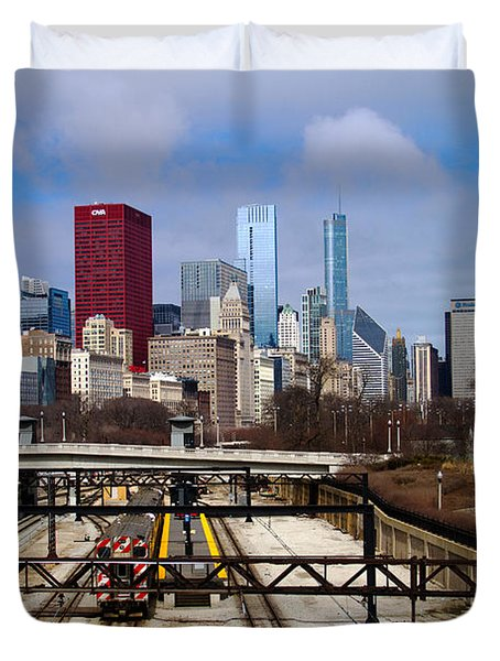 Chicago Metro Duvet Cover