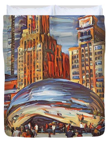 Chicago Millennium 2 Duvet Cover