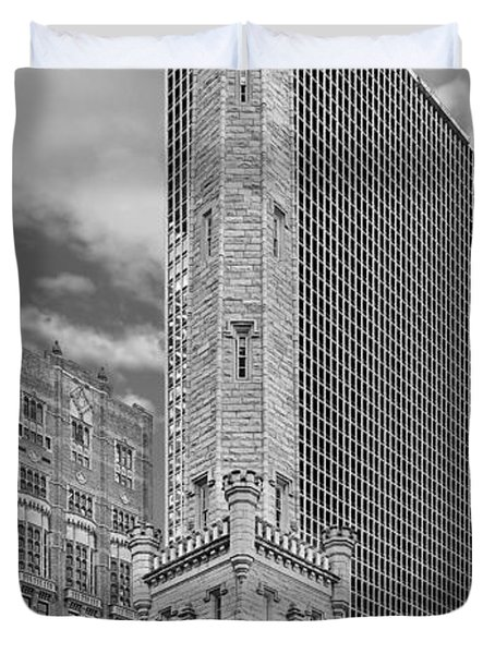 Chicago - Old Water Tower Duvet Cover
