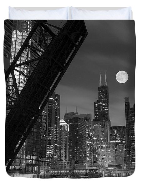 Chicago Pride Of Illinois Duvet Cover