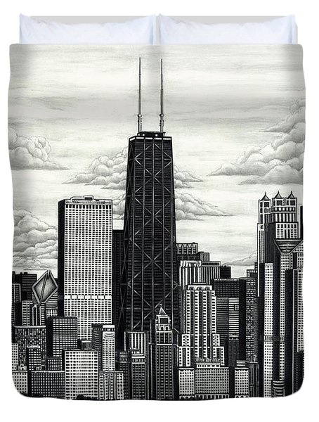 I Love Chicago Volume 1 Duvet Cover