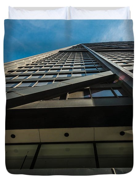 Chicago Structure Duvet Cover