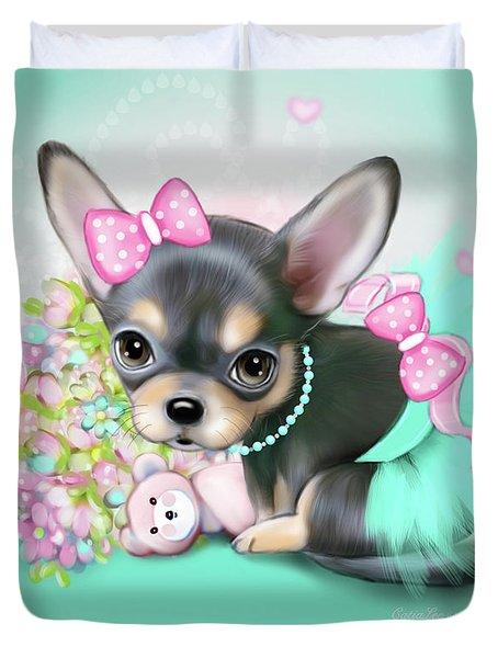 Chichi Sweetie Duvet Cover