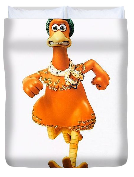 Chicken Run B Duvet Cover