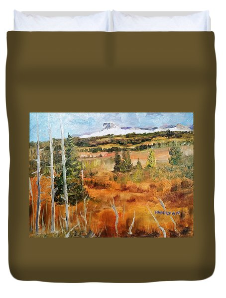 Chief Mountain Duvet Cover